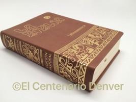 La Biblia Latinoamericana -Pasta Simil Piel Español Latinoamerica Catoli... - $19.75