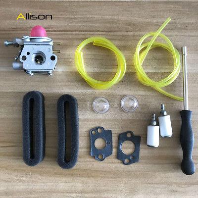 Carburetor For Cub Cadet BC210 BC280 CC212 CS202 SS270 string trimmer Air filter