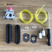 Carburetor For Cub Cadet BC210 BC280 CC212 CS202 SS270 string trimmer Air filter - $18.86