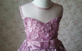 Ball Gown Knee-length Flower Girl Dress -Satin/Tulle Sleeveless Scoop Neck 4-16  image 5