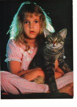 Drew Barrymore John Taylor Duran Duran teen magazine pinup clipping kitty Bop