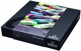 Rembrandt Royal Talens Soft Pastels General Wood Box Set, 90 Stick Set - $210.65