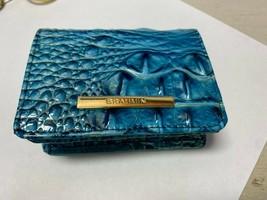 Brahmin Lagon Melbourne Mini Carte Portefeuille Avec Porte-Clés Petit Pl... - $44.40