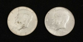 2 Kennedy Half Dollars 1968  Circulated Condition Philadelphia   #7 - $21.39