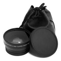 Professional 52MM 0.45 x Wide Angle Macro Lens for Nikon D3200 D3100 D52... - $21.79