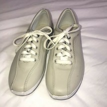Women's Beige Leather Upper KEDS Sneakers  Shoes  Size 8.5 - $19.79