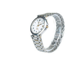 Authentic BURBERRYS White Dial Stainless Steel Women's Quartz Watch BW17... - $149.00