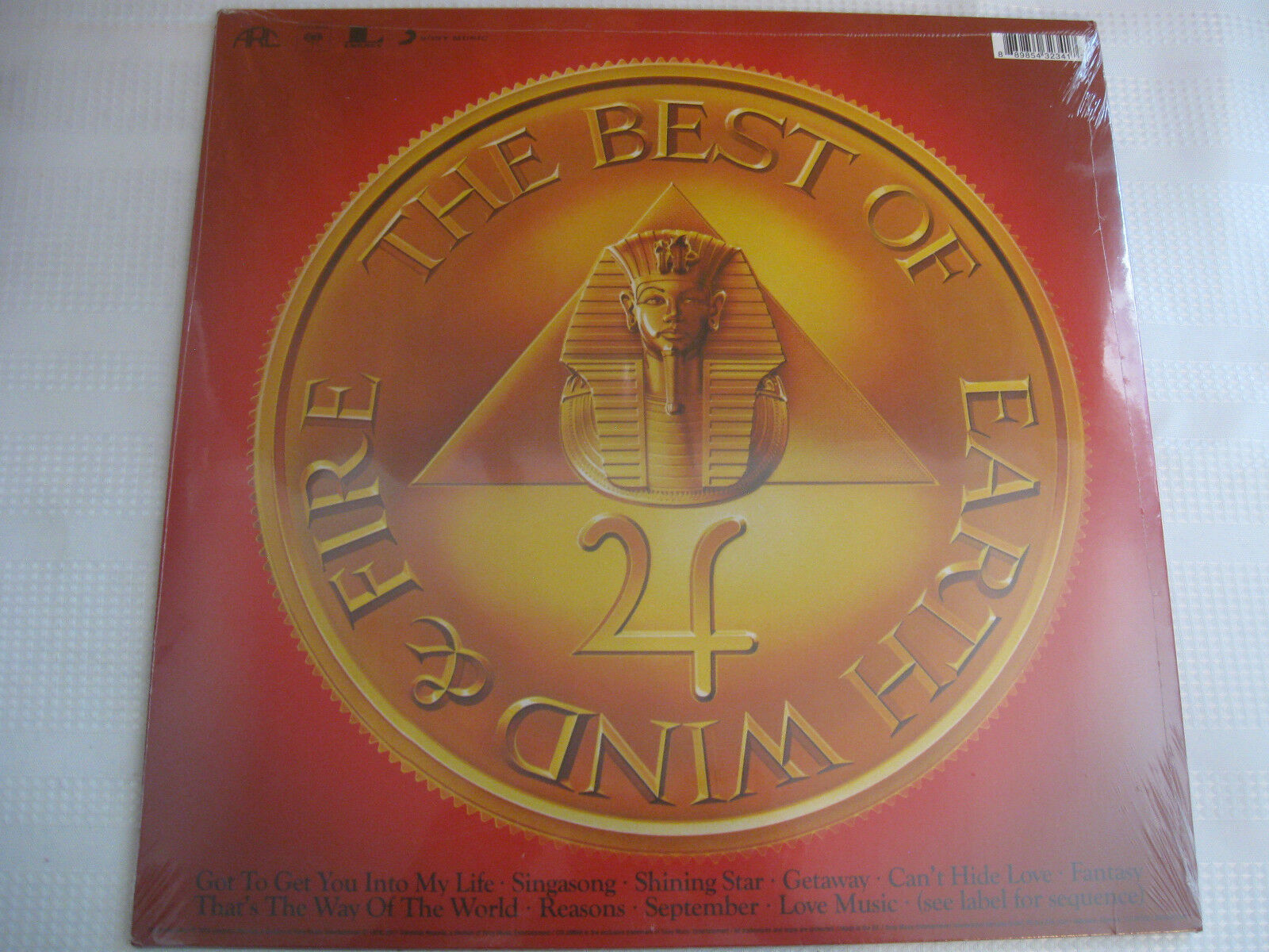 The Best Of Earth Wind & Fire Vol 1 Sony Columbia Stereo Vinyl Record LP SEALED image 2