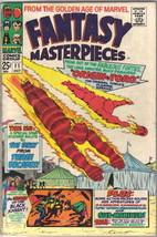 Fantasy Masterpieces Comic Book #11 Marvel Comics 1967 FINE - $15.44