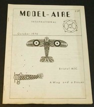 1970 Model-Aire International Newsletter October - $1.97