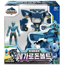 Miniforce Megalodon Volt Transformation Action Figure Super Dinosaur Power Part  image 1