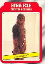 1980 Topps Star Wars #5 Star File Chewbacca > Peter Mayhew > H - $0.99