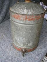 Early Gasoline & Oil Galvanized Gas,Oil,Kero Can w SPIGOT & Handle - $49.49