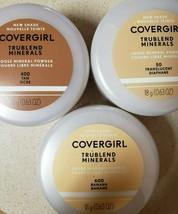 Covergirl Trublend Minerals Loose Powder 50, 400, 500, 600 - $5.73