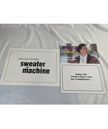 Bond Incredible Sweater Knitting Machine Replacement Instruction Booklet... - $24.95
