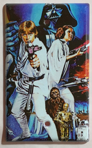 Star Wars Characters Old Poster Light Switch Outlet wall Cover Plate Home decor image 5