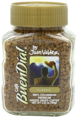 Buendia by Juan Valdez Classic 100% Colombian Freeze Dried Coffee,3.52 oz(2 pack