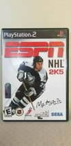ESPN NHL 2K5 (Sony PlayStation PS2, 2004) Video Game - $8.90