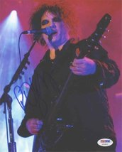 Robert Smith 'Cure' Signed 8x10 Photo Certified Authentic PSA/DNA COA - $247.49