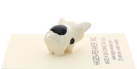 Hagen-Renaker Miniature Ceramic Pig Figurine Spotted Piglets Standing & Sitting image 6