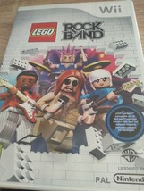 Nintendo Wii~PAL REGION LEGO RockBand image 1