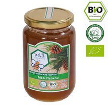 Organic Pine Raw Honey 450gr from the pine forests in Arcadia Greece NEW... - $27.62