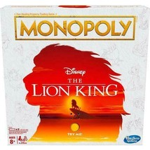 Monopoly Game Disney The Lion King Edition Family Electronic Board Game New - $25.69