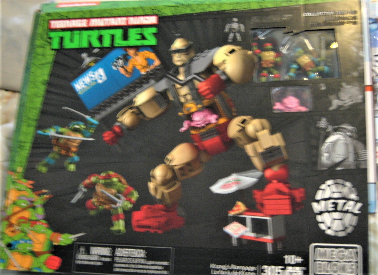 Mega Bloks - Teenage Mutant Ninja Turtles Krang's Rampage Set (new) image 2