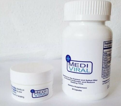 MediViral Extra Strength Herpes Daily Supplement and Topical Cream 2