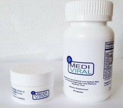 MediViral Extra Strength Herpes Daily Supplement and Topical Cream 2 image 1