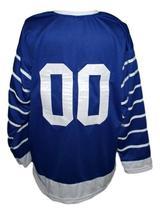 Any Name Number Toronto Arenas Retro Hockey Jersey 1918  New Blue Any Size image 2