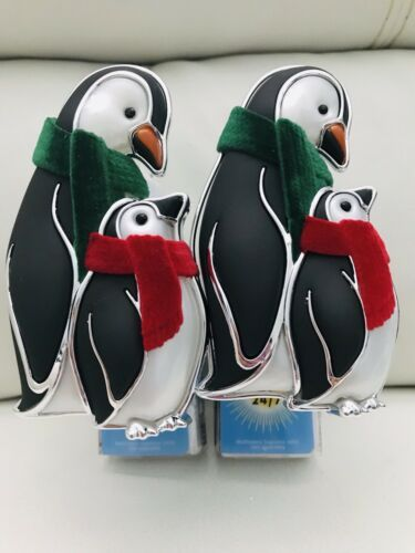 Primary image for 2x Bath & Body Work Penguin Pair Nightlight Wallflower Fragrance Plug In
