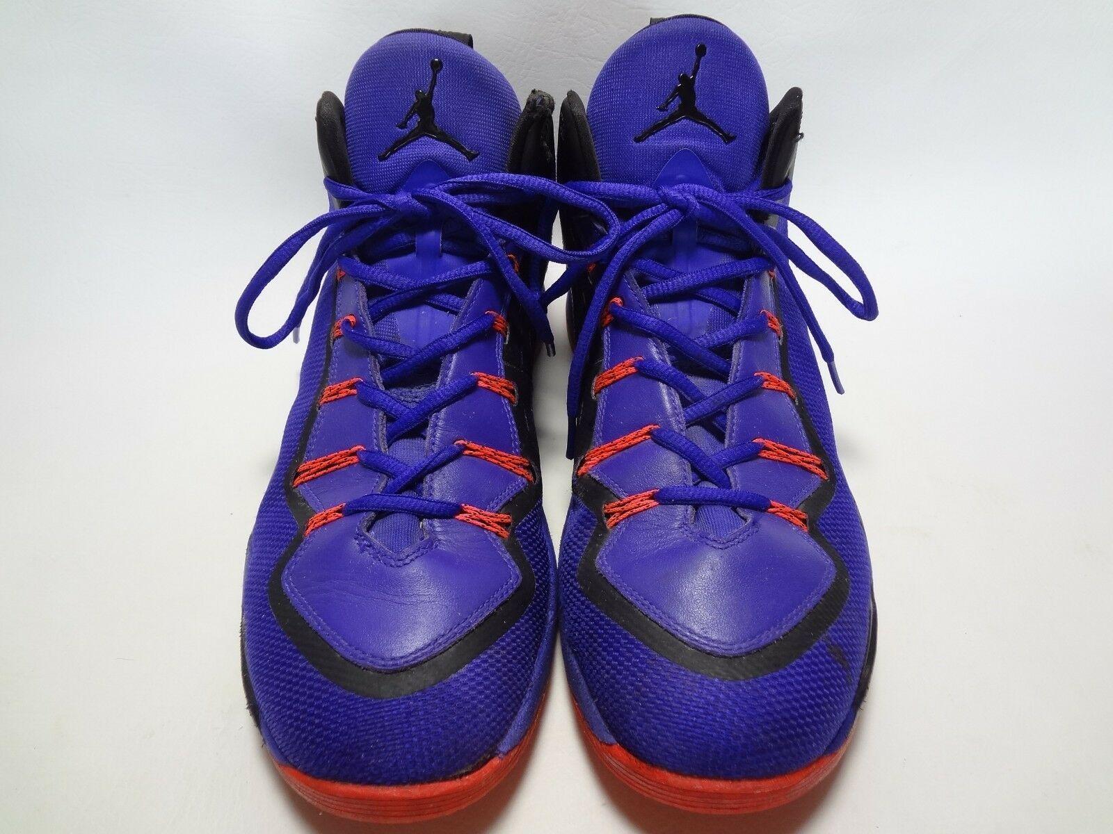 8059575538f47e Nike Air Jordan Super Fly 2 PO Playoffs Concord Blck Infrared 645058-523  11.5