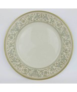 "Gorham ""Lorenzo De Medici"" Green & Gold Dinner Plate 10-3/4"" Excellent C... - $16.00"