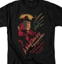 A Nightmare On Elm Street t-shirt Freddy Krueger slasher film graphic tee WBM556 image 2