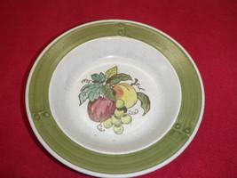 Metlox Poppytrail California Medium Serving Bowl Apple Grape Pottery - $37.39