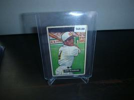 1951 Bowman Gum Baseball Card #245 John Berardino Trading Card Ok Condition - $8.90