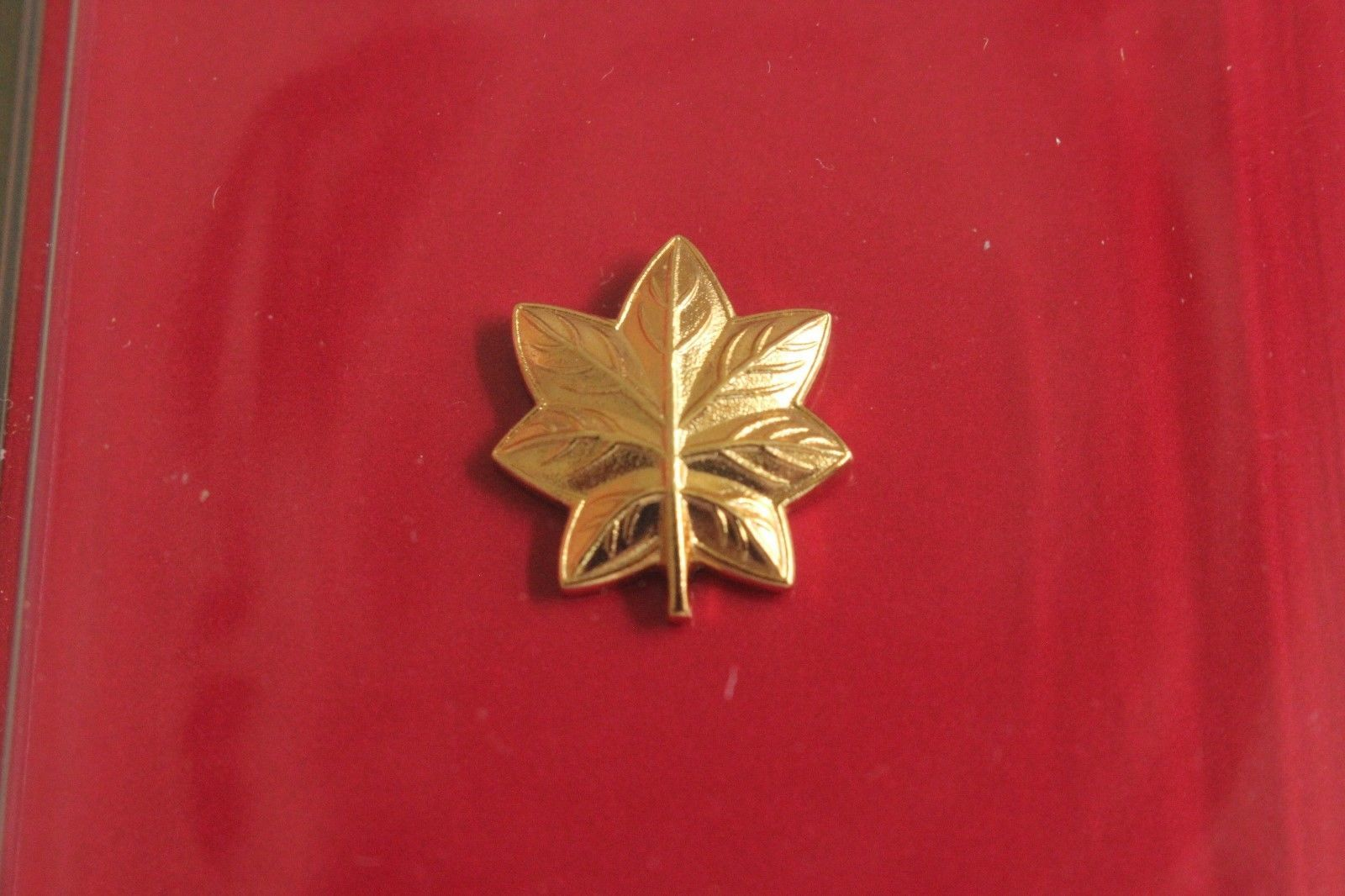 USN US NAVY O-4 LCDR RANK OFFICER GARRISON CAP BADGE & DEVICE REDUCED SIZE MINI