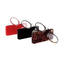 Reading Glasses Mini Clip On Nose Resting Presbyopic Farsighted Reader G... - $8.07
