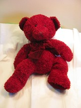 "Russ Berrie Plush Stuff Animal Toy 14"" Rosetta Red & Glitter Teddy bear ... - $5.93"