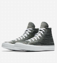 Converse Mens Chuck Taylor All Star Hi Flyknit 157509C Teal/White Size 10 image 1