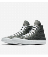 Converse Mens Chuck Taylor All Star Hi Flyknit 157509C Teal/White Size 10 - $59.99