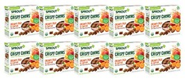 Sprout Organic Crispy Chews Toddler Snacks, Orchard Fruit & Carrot, 5 Co... - $41.76