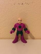 """Action Figure DC Comics Imaginext Super Friends Superman Lex Luthor 2.75"""" Mattel - $6.93"""