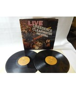 CREEDENCE CLEARWATER REVIVAL LIVE IN EUROPE double  record album LP  - $11.82
