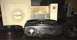 Kodak Carousel 750 Slide Projector with 5 inch lens 140 tray remote bulb... - $99.99