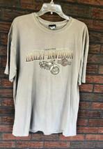 Harley Davidson T-Shirt XL Short Sleeve Victoria BC Canada Steve Drane H... - $19.60