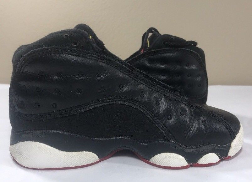 the best attitude a9154 3ab51 Nike Air Jordan Retro XIII 13 Playoffs Boys PS 12.5c Bred Cherry Flint Black  Cat