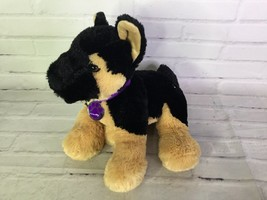 Nintendo Nintendogs German Shepherd Black Plush Puppy Dog Stuffed Animal... - $16.82