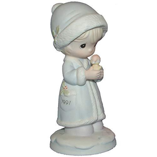 Precious Moments May Your Christmas Be Merry Dated 1991 (#524166) - $29.99